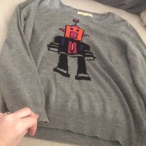 Sweaters - Robot Sweater